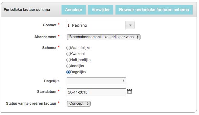 Hoe kan ik mijn abonnement automatisch incasseren veilig online boekhouden met yoursminc - Hoe een studio van m te voorzien ...